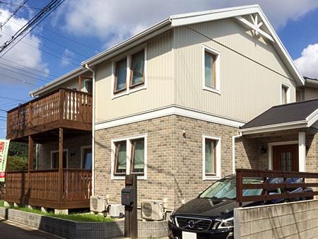 石田ホーム施工例、船橋市スウェーデンの家