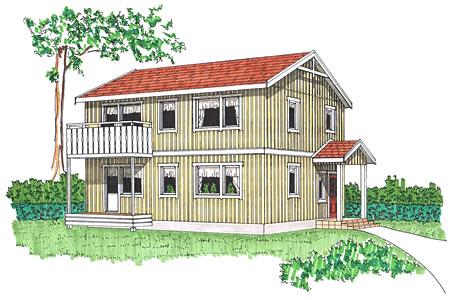 スウェーデンの家 外観イメージ