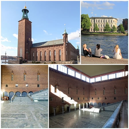 スウェーデン、ストックホルム市庁舎