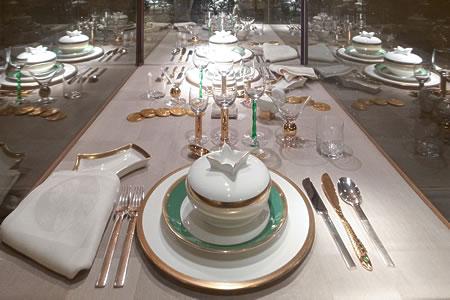 ノーベル賞晩餐会、テーブルコーディネート