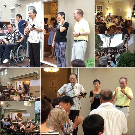 沖縄民謡の歌三線を演奏していただきました!