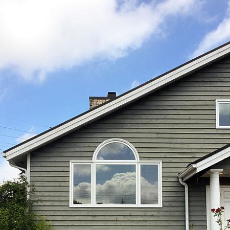 佐倉展示場、輸入住宅木製窓交換工事、省エネ性能が向上しました。