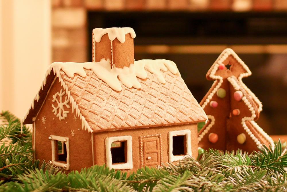 スウェーデンの家庭でつくられるお菓子の家、ジンジャーブレッドハウス