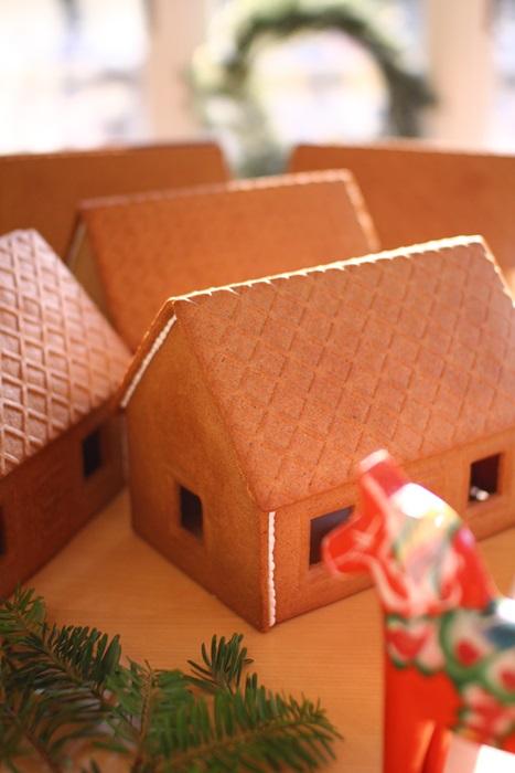 北欧スウェーデンのジンジャーブレッドハウス