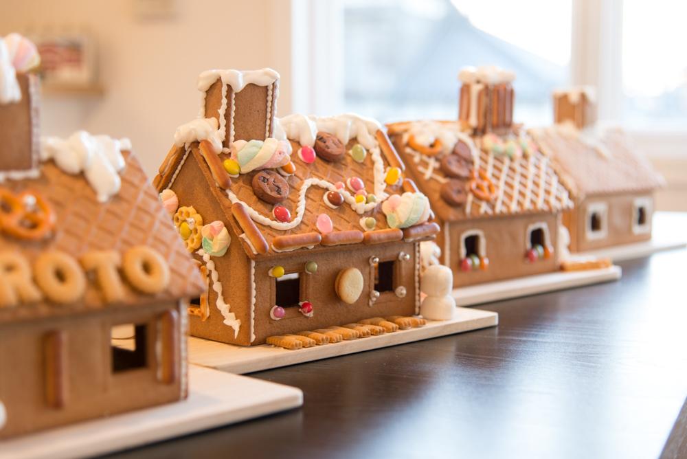 小さなスウェーデンの家、北欧のジンジャーブレッドハウス完成しました!