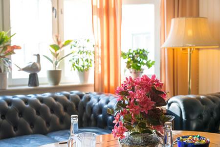 スウェーデンのホテル、伝統的な北欧インテリア