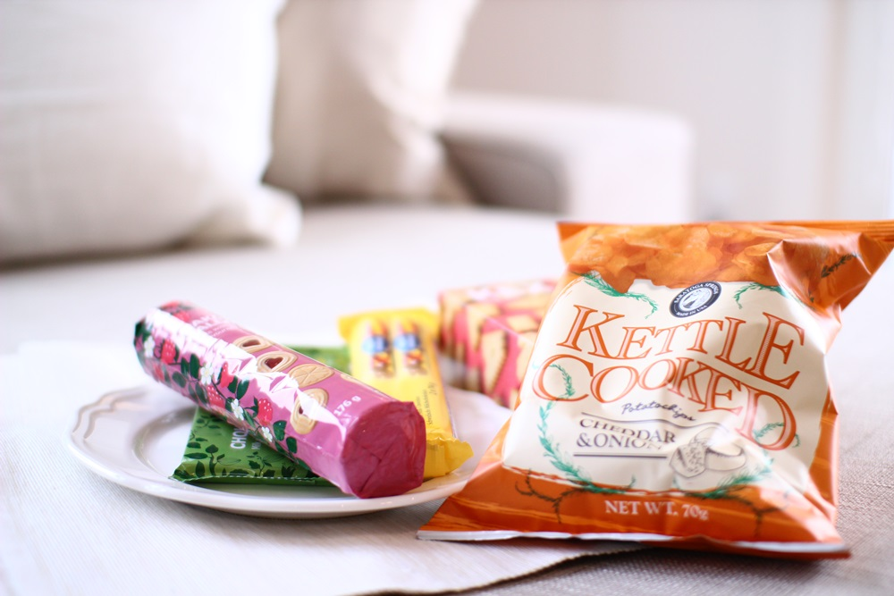 IKEAジンジャーブレッドハウスコンテストの副賞でいただいたスウェーデンのお菓子