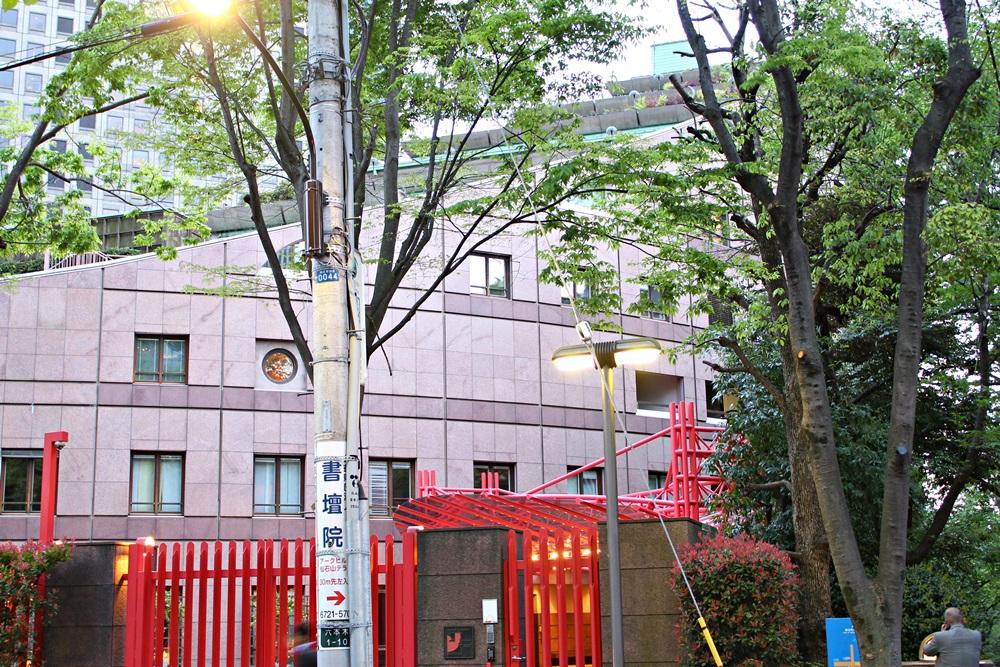スウェーデン大使館外観
