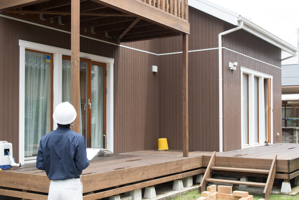 北欧輸入住宅「スウェーデンの家」定期点検