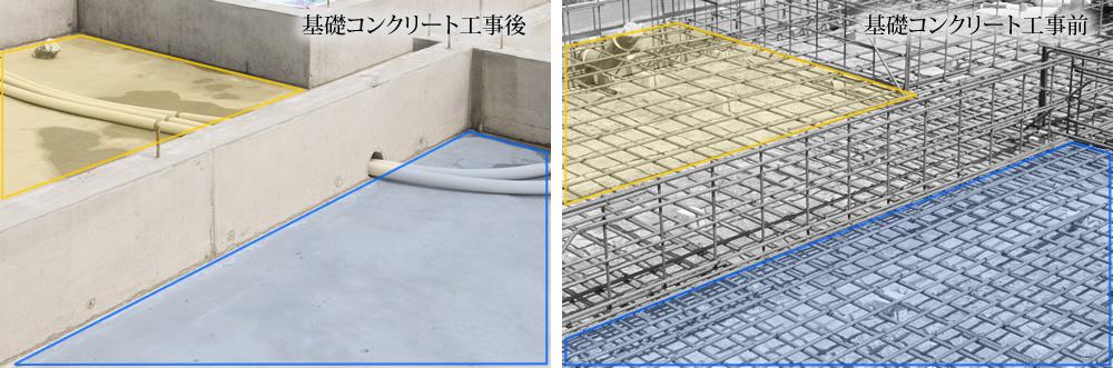 耐震基礎は一棟一棟、構造設計を行ないます。