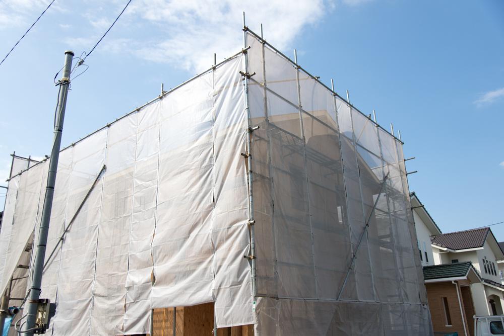 千葉県千葉市の北欧輸入住宅が上棟しました!