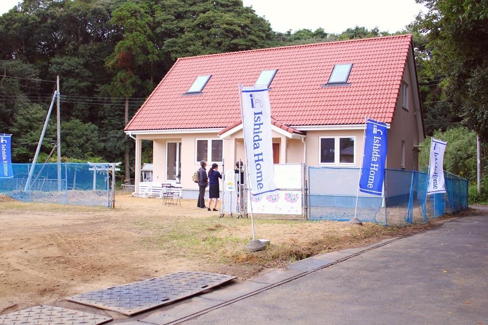 石田ホームの北欧輸入住宅「スウェーデンの家」完成見学会