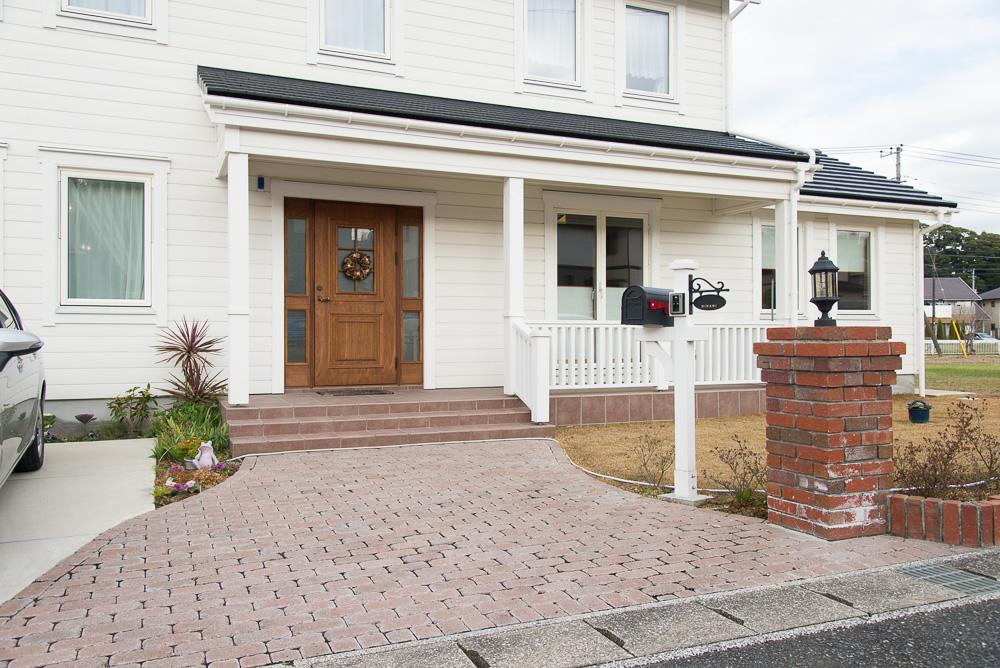 千葉県木更津市へ北欧輸入住宅のオーナー様宅を訪ねました!