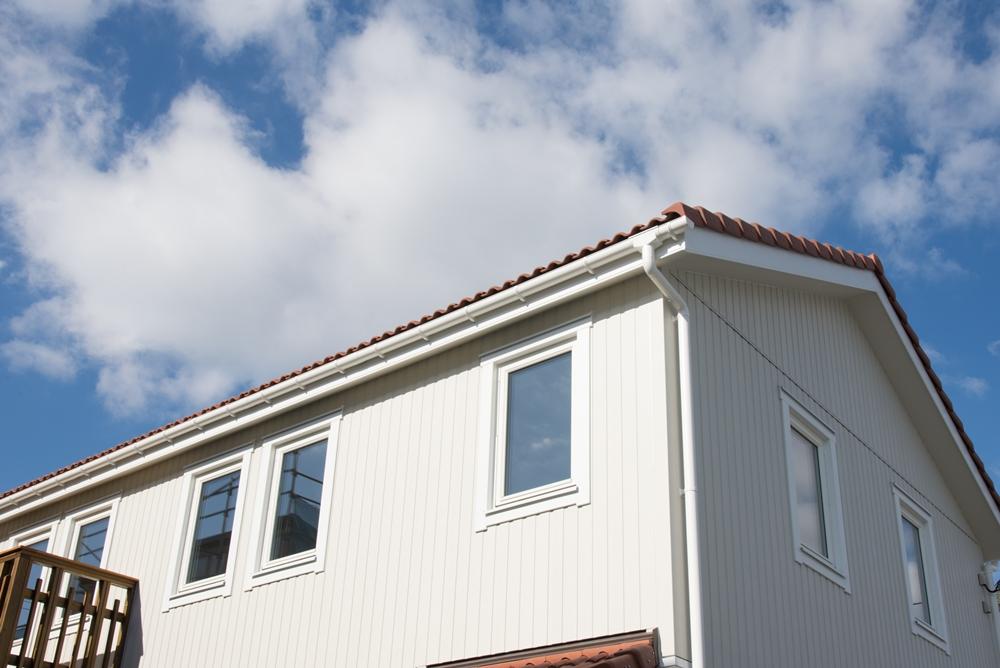 北欧輸入住宅「スウェーデンの家」完成見学会、外観