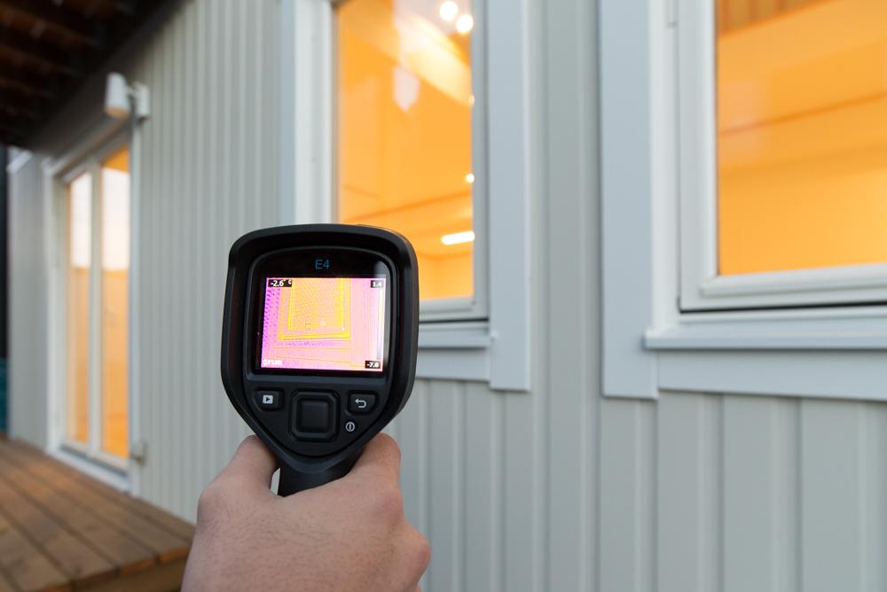 千葉市・北欧住宅の温度測定