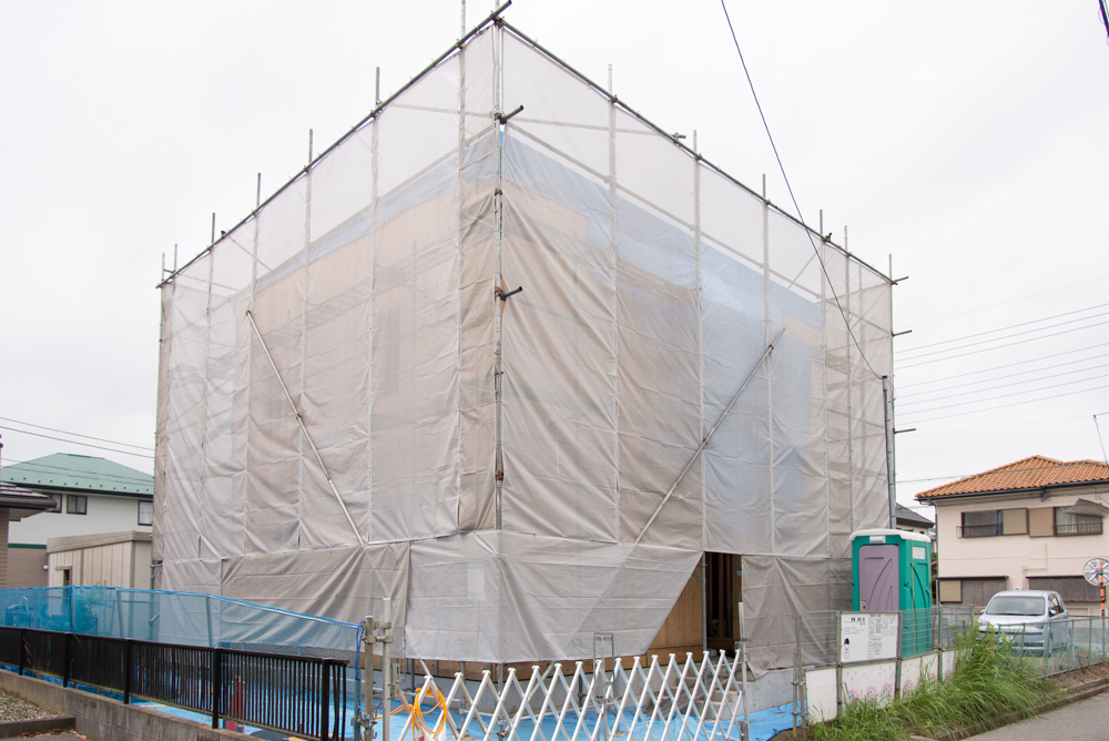 千葉県酒々井町の2x6注文住宅が上棟しました!