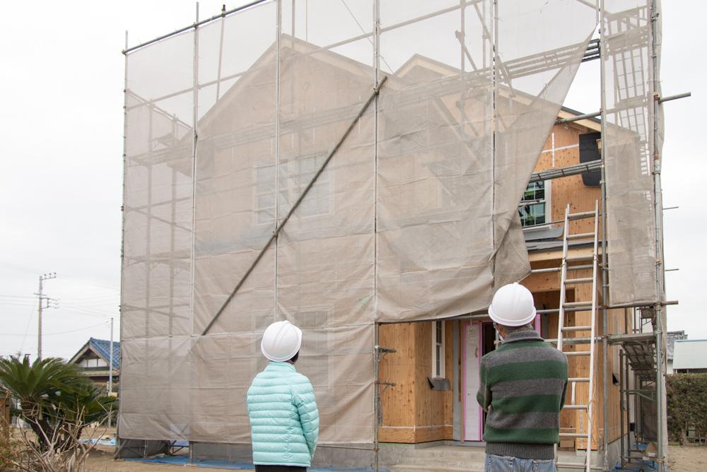 千葉県山武市の注文輸入住宅が上棟しました!