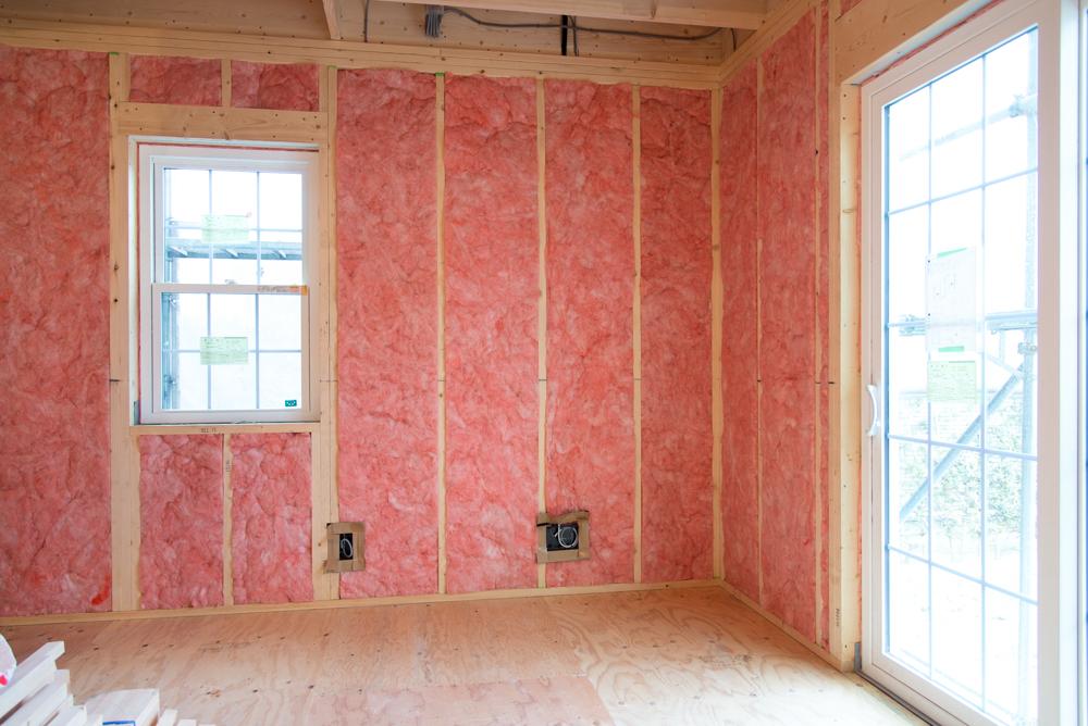 北米注文輸入住宅の断熱工事