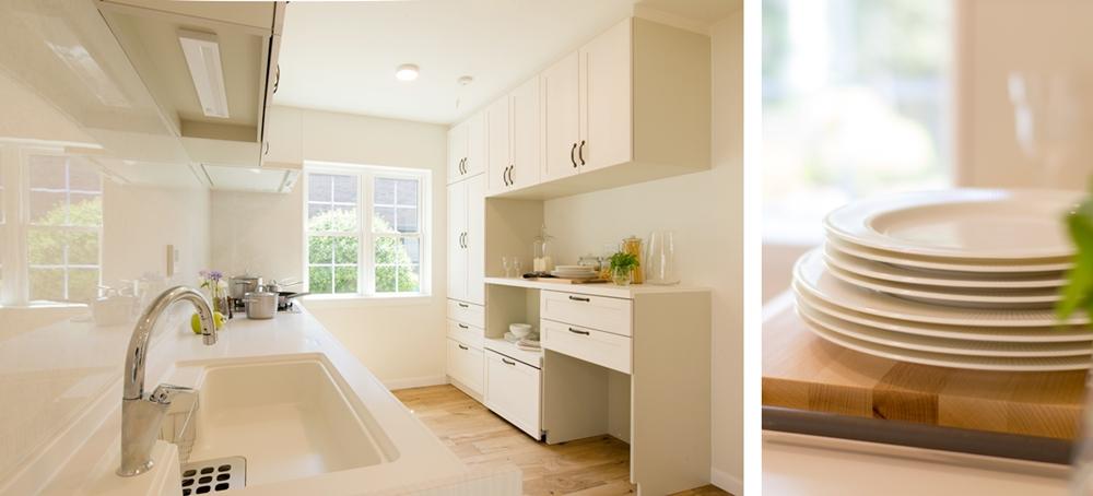 注文輸入住宅のキッチン