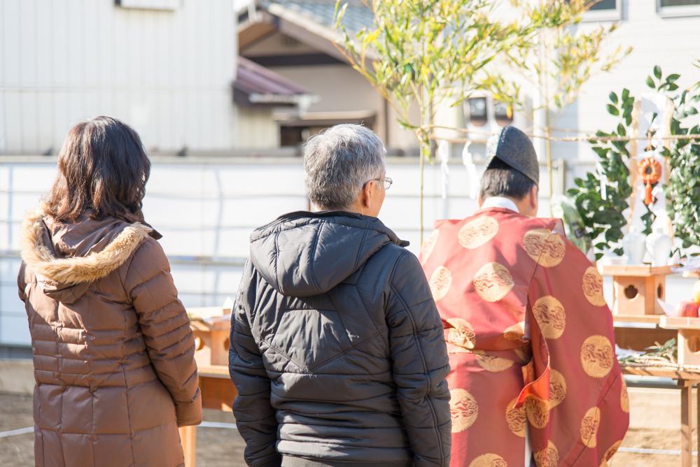 北欧輸入住宅の地鎮祭を千葉県習志野市で執り行いました!