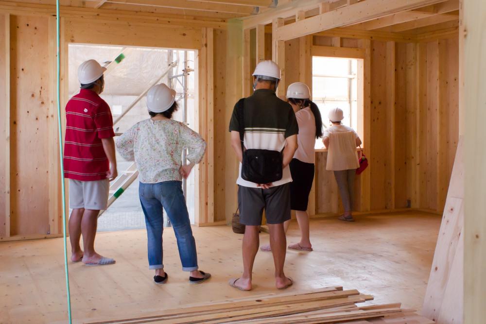 注文輸入住宅のオーナー様へ上棟後の工事説明を行いました!