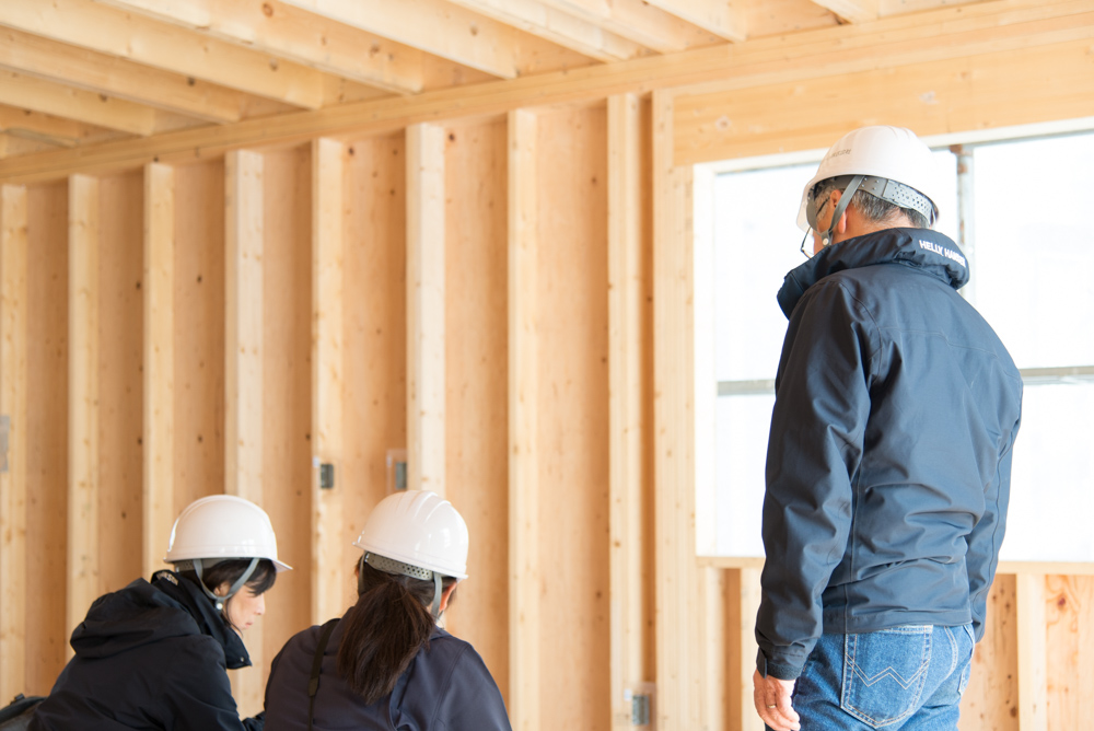 北欧輸入住宅「スウェーデンの家」の上棟時工事説明を行ないました!