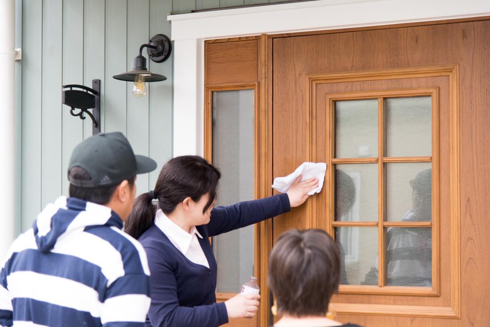 北欧輸入住宅「スウェーデンの家」の点検にお伺いしました!