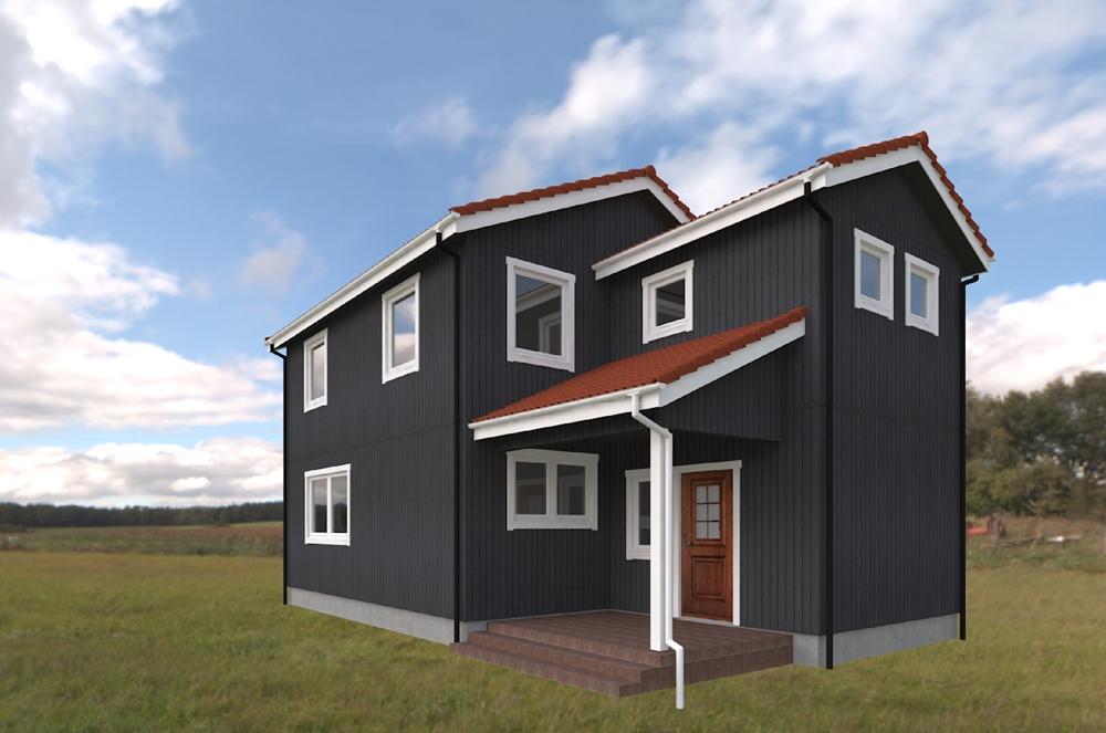 北欧輸入住宅スウェーデンの家 完成見学会