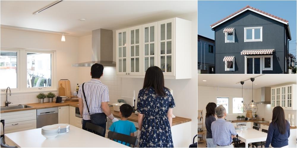 北欧輸入住宅スウェーデンの家 完成見学会 北欧インテリア