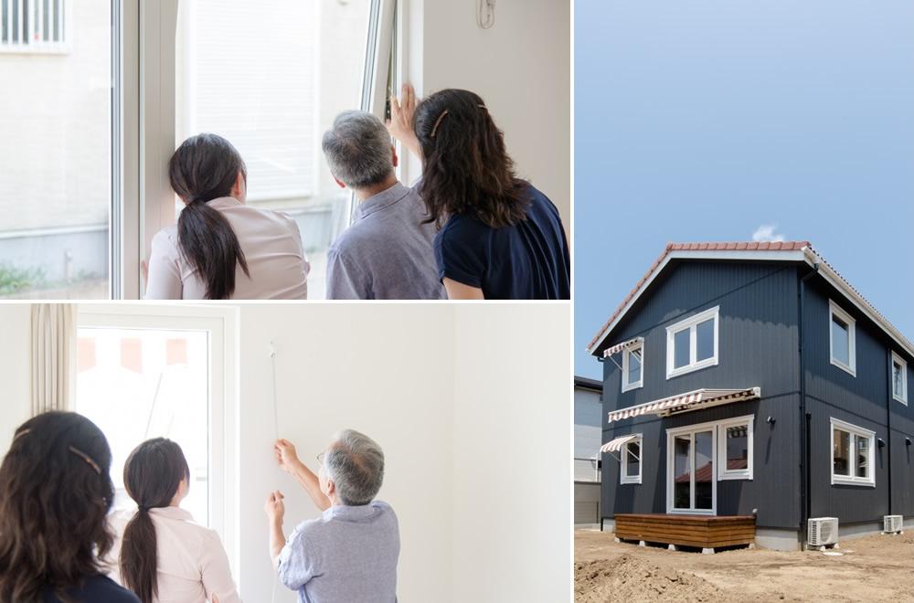 千葉県習志野市「スウェーデンの家」をお引渡しいたしました!スウェーデンで定番のホワイトの木製窓&北欧で多く見かける室内開閉のオーニング。