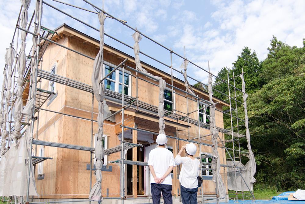 千葉県匝瑳市の北米輸入住宅「ノースアメリカンの家」が上棟しました!