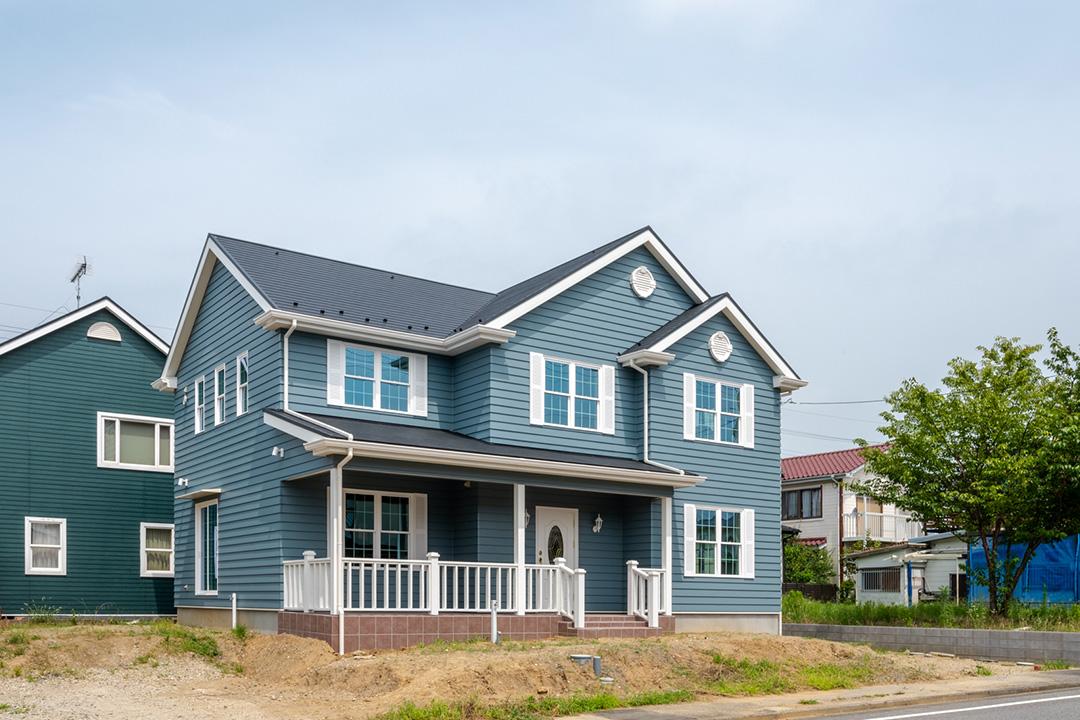 新築のアメリカンハウスお引渡し!輸入住宅「ノースアメリカンの家」